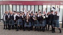 Annan Pipe Band declared Champion of Champions