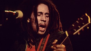 Bob Marley, seen in 1976, briefly owned a piece of Bond history.
