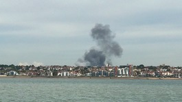 Fire at Southend Airport