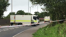 Army bomb squad examines Derry suspicious object