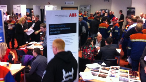 Hundreds are expected through the doors at the Alcan jobs fair today
