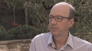 Dr Richard Weller from Edinburgh University