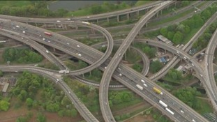 Major roadworks are taking place at Spaghetti Junction this summer.