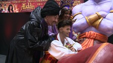 Christmas comes early as Union J singer launches panto