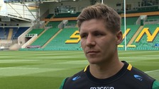 Piers Francis is looking forward to getting started at Northampton Saints.