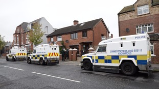 Police arrested three men in north and west Belfast.