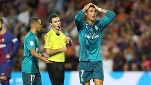 Cristiano Ronaldo fails with appeal against five-match ban for pushing referee