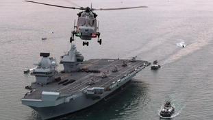 20 facts about HMS Queen Elizabeth (the Navy's largest ever ship)