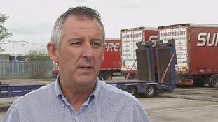 Irish border haulage firms 'depend on free movement'