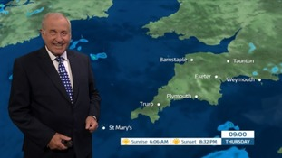 Weather: sunny spells and a few showers