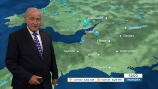 Weather: sunny periods with a few showers