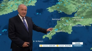 Weather: sunny but cloudy and breezy