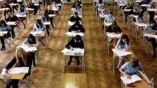 Thousands of pupils get A Level and AS Level results