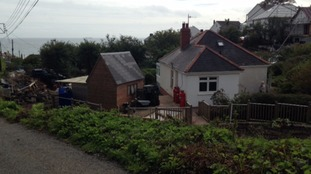 The couple have owned their home in the village for 54 years.