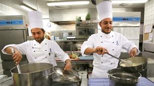 Apprentice chefs.