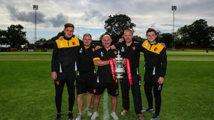 FA Cup trophy travels to Alvechurch Football Club