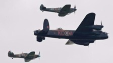 Battle of Britain planes grounded