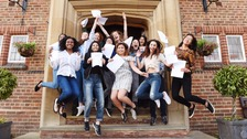 Top A-level results rise for first time in six years