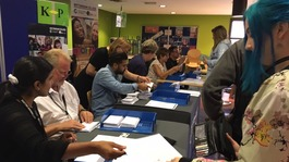 Thousands pick up A-Level results