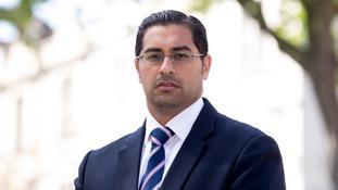 Headteacher Mouhssin Ismail