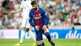 Barcelona's Gerard Pique feels 'inferior' to Real Madrid after Super Cup defeat