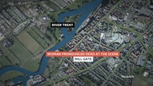 The man has been arrested on suspicion of murder
