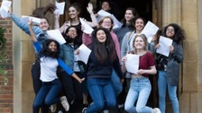 Rise reported in top grade A-level results