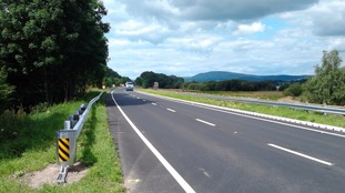 The A66 was affected by flooding in 2009 and 2015