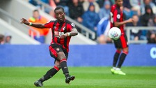 Max Gradel playing for Bournemouth