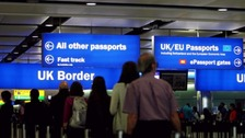 UK 'plans to continue visa-free travel from EU'