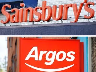 Sainsbury's bought Argos last year.
