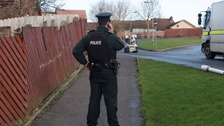 Army bomb experts dealt with a viable pipe bomb at Earhart Park in the Shantallow area of Derry in January.