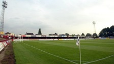 The alleged incident happened while Kettering were playing at home