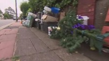 Rubbish piles up as dispute hits refuse collection