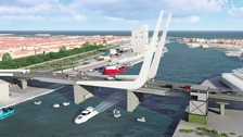 This is how the new crossing will look.