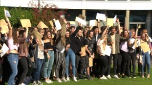 South west pupils shine with A Levels results though critics say new system is 'tough'