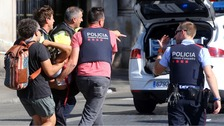 13 dead and 100 injured in Barcelona van attack