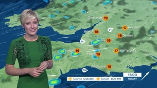 Weather: sunshine but heavy winds