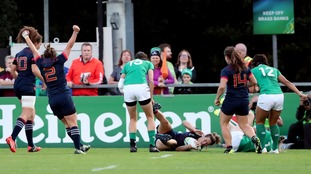 Impressive France end Ireland's Rugby World Cup dream in Dublin