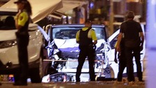 Barcelona van attack leaves 13 dead and 100 injured