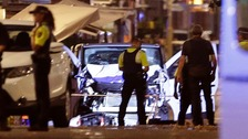 Live: Five shot dead as Spanish police 'stop second terror attack'