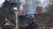 Arsonist sentenced over devastating fire at historic hall