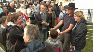 Martin Clunes hosting horse and dog fair at his home