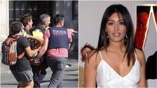 Actress Laila Rouass hid in a nearby restaurant during the Barcelona attack