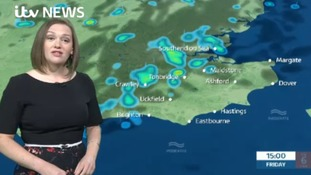 Weather forecast for east of region