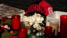 People have laid tributes to the attack victims