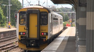 Passenger numbers treble on seaside rail line
