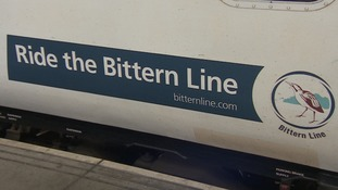 There are now 600,000 passengers a year using the Bittern Line.