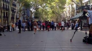 """County Durham woman in Barcelona: """"I feel so lucky"""""""