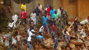 More than 400 have died in the mudslides and around 600 are still missing.